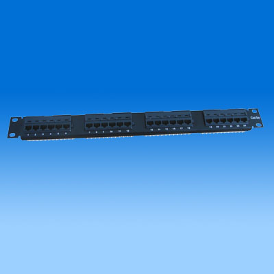 ZH-PP04 CAT5E 24 PORTS UTP PATCH PANEL
